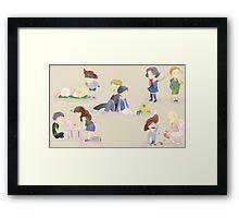 Kindergarden Framed Print