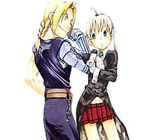 Maka & Ed Photographic Print