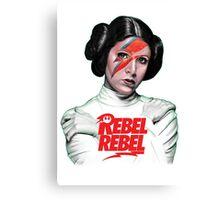 Rebel Rebel Leia Canvas Print