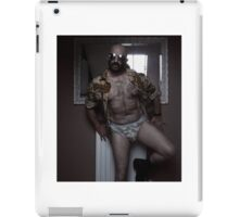 Troy T Scott - Up Against The Wall in Combat iPad Case/Skin