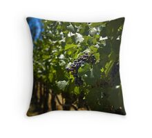 Wine Country Harvest Throw Pillow
