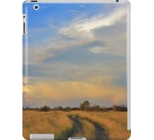 Two Track Road to Rainbow Bliss iPad Case/Skin