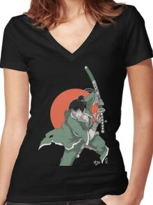 Ryohei the Wanderer Women's Fitted V-Neck T-Shirt