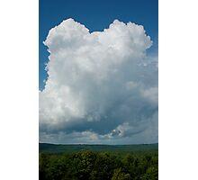 tall cloud Photographic Print