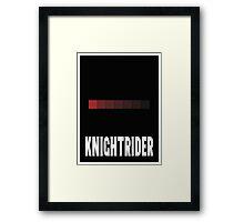 Knightrider Framed Print