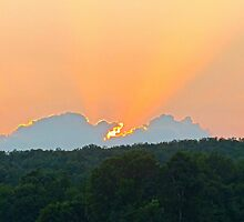 Beautiful Sunset by Susan S. Kline