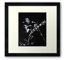 The Blues of BB King Framed Print