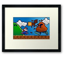 Air Glorio Bros Framed Print