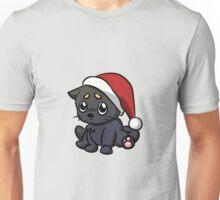 Sad Christmas Cat Unisex T-Shirt