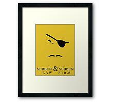 Sebben & Sebben Framed Print