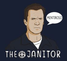 The janitor Baby Tee