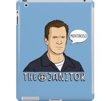 The janitor iPad Case/Skin