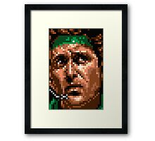 Sneaking Mission Framed Print