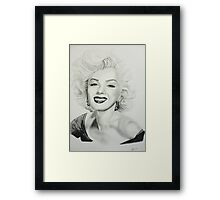 Miss Monroe Framed Print
