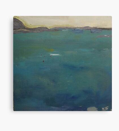 boats northumberland Canvas Print