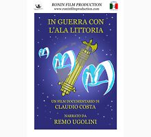 In guerra con l'Ala Littoria - official poster Unisex T-Shirt