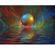Abstract Sphere Photographic Print