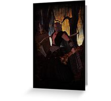Slayer Greeting Card