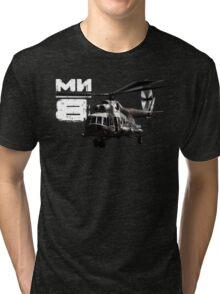 Mi-8 Tri-blend T-Shirt