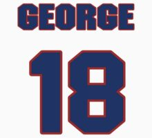 National baseball player George Fallon jersey 18 by imsport