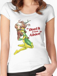 Death from Above Women's Fitted Scoop T-Shirt