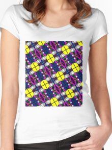 KING OF HEARTS-CLOSE COLOUR Women's Fitted Scoop T-Shirt