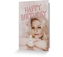 Happy Birthday;  Greeting Card