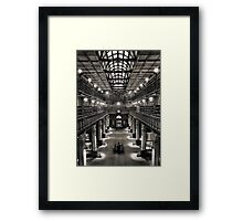 Mortlock Library Framed Print