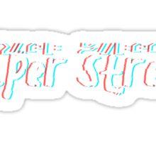 Paper Street Sticker