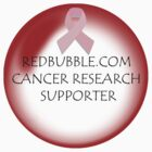 redbubble.com cancer research supporter by Leah Highland