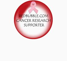 redbubble.com cancer research supporter Womens Fitted T-Shirt