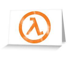 Half-Life Greeting Card