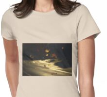 Autumn shower! Take me with you away from a dreadful winter! Womens Fitted T-Shirt