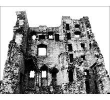 Ashby Castle Photographic Print