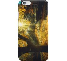 The Last Weekend of Calming Yellow Autumn iPhone Case/Skin