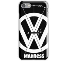 VW Logo Specicication iPhone Case/Skin