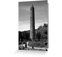Round Towers Of Ireland Greeting Card