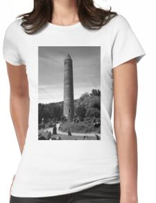 Round Towers Of Ireland Womens Fitted T-Shirt