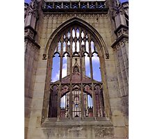 The Bombed Out Church Photographic Print