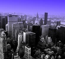 NY - Feeling Blue by DanaMS