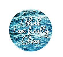 Clean - Taylor Swift Inspired Photographic Print