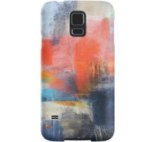 Blue Red Abstract  Samsung Galaxy Case/Skin