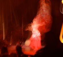 Bellydancer aflame by greenjewels77