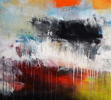 Large Abstract Art  by AndradaArt