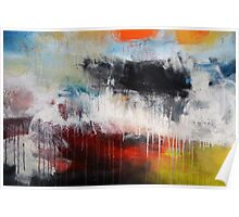 Large Abstract Art  Poster