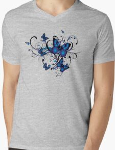 Butterflies Mens V-Neck T-Shirt