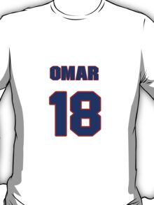 National baseball player Omar Moreno jersey 18 T-Shirt