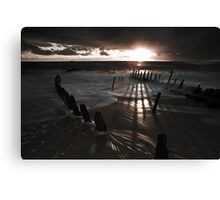 After dawn Canvas Print