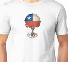 Tree of Life with Chilean Flag Unisex T-Shirt