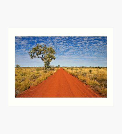The Gunbarrel Highway Art Print